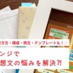 進研ゼミ読書感想文